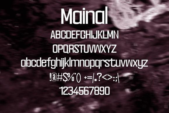 Mainal Font