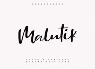 Malutik Font