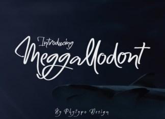 Meggallodont Font