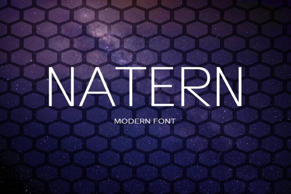 Natern Font