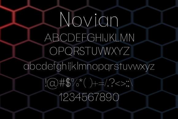 Novian Font