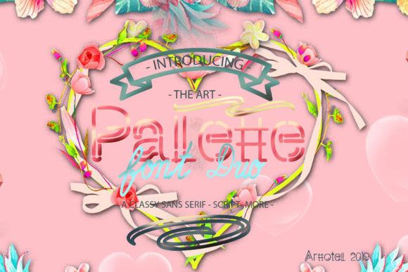 Pallette Duo Font