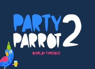Party Parrot 2 Font