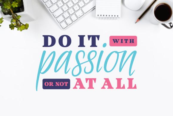 Passionate Message Font