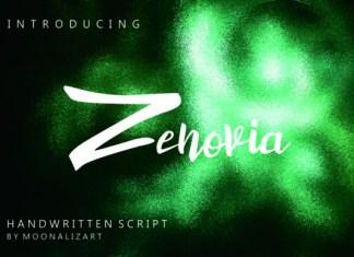 Zenovia Font