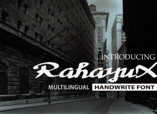 RahayuX Font