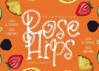 Rose Hips Font