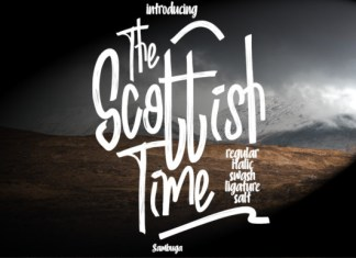 Scottish Time Font