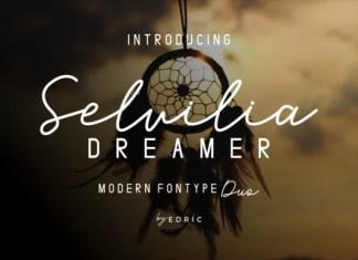 Selvillia Dreamer Font