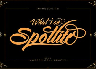 Spotlite Bold Font
