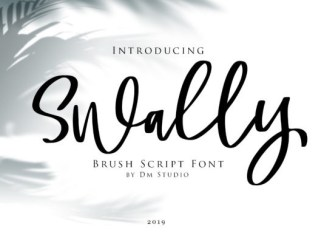 Swally Font