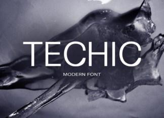 Techic Font
