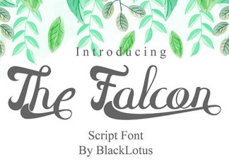 The Falcon Font