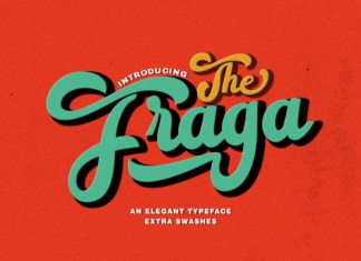 The Fraga Font