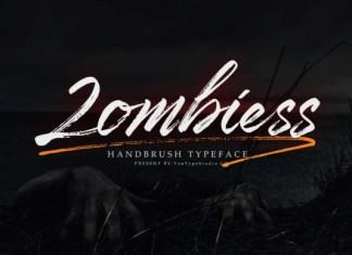 Zombiess Font
