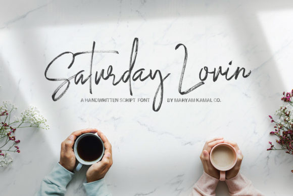 Saturday Lovin' Font