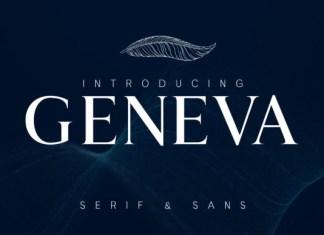 Geneva Font