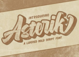 Asterik Font