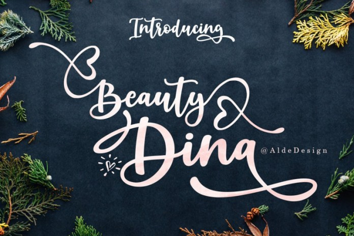 Beauty Dina Font