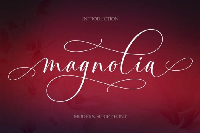 Magnolia Modern Font