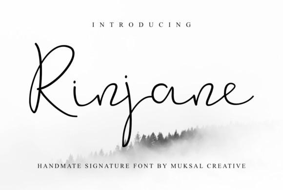 Rinjane Font