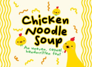 Chicken Noodle Soup Font