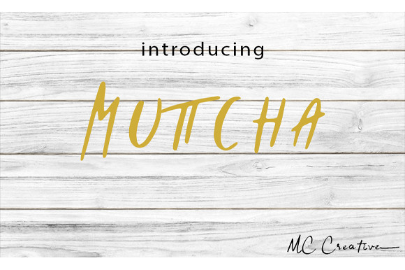 Muttcha Font