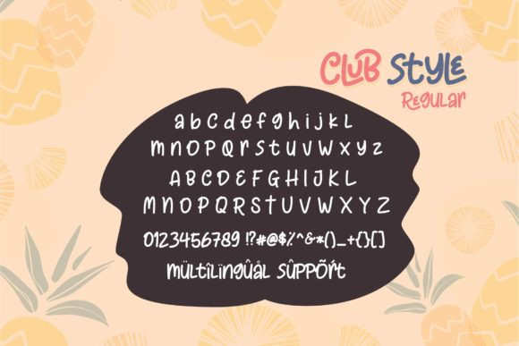 Club Style Font