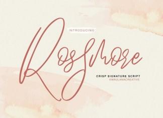 Rossmore Font