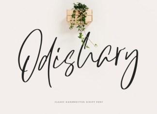 Odishary Font