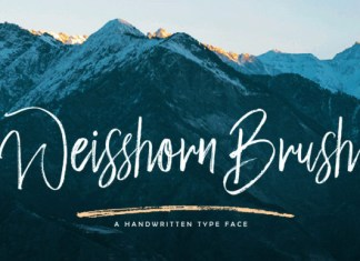 Weisshorn Font