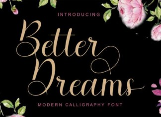 Better Dreams Font