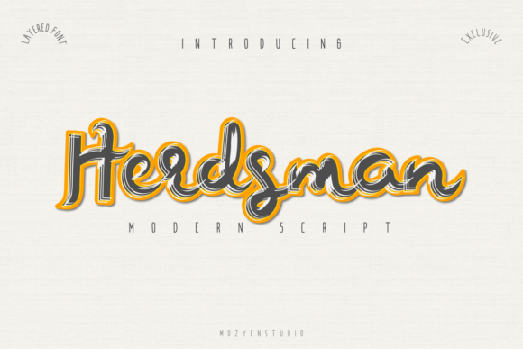Herdsman Font