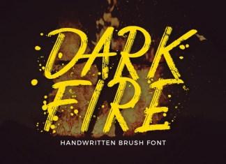 Dark Fire Font