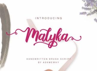 Malyka Font