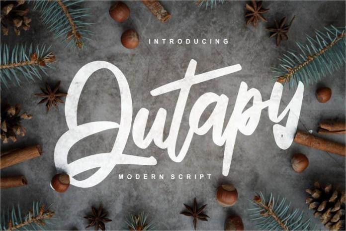 Qutapy Font