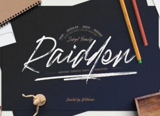 Raidden Font