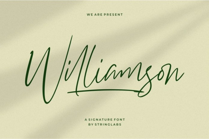 Williamson Font