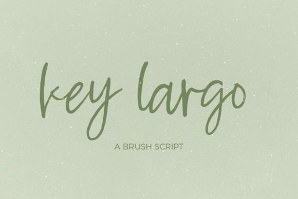 Key Largo Font