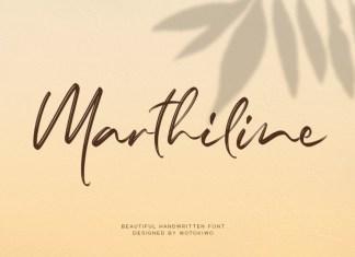 Marthiline Font