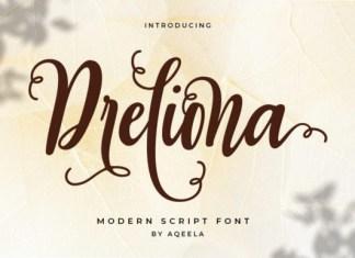 Dreliona Font