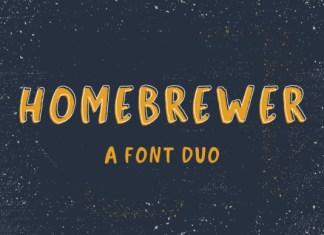 Homebrewer Font