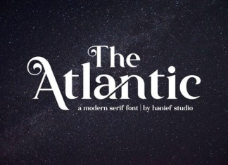 The Atlantic Font