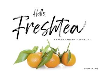 Hello Freshtea Font