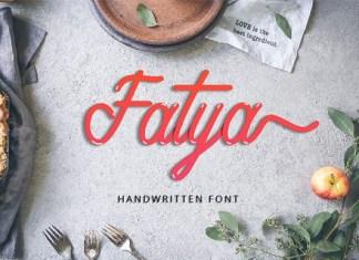 Fatya Font