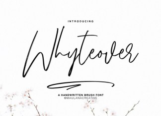 Whyteover Font