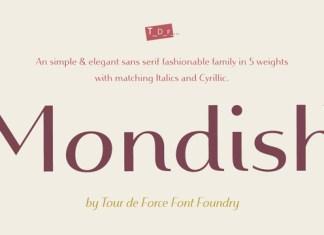 Mondish Font