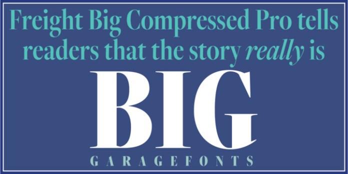 Freight Big Cmp Pro Font