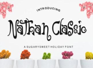 Nathan Classic Font