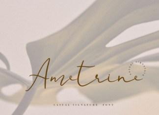 Ametrine Font